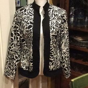 Chico's lined jacket size 1